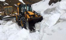 Gümüşhane'de yerel seçimler öncesi köy yollarında karla mücadele çalışmaları hızlandı