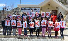 Gümüşhane'de lider çocuk tarım kampı sona erdi