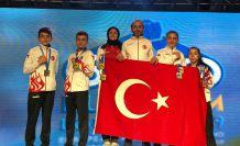 Gümüşhaneli sporcular Yunanistan'da Avrupa'nın bileğini büktü