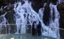Arap turistler akın akın Tomara Şelalesine geliyor