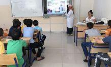 Kur'an kursu öğrencilerine sağlıklı beslenme eğitimi