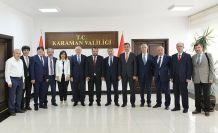 Rektör Zeybek'ten KMÜ'yü ziyaret etti