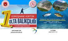 Kürtün'de olta balıkçılığı yarışması düzenlenecek
