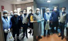 Divan Sofrasından sağlık çalışanlarına döner ikramı