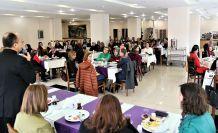 GÜ'de kadınlara yönelik kahvaltı programı düzenlendi