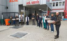 Gümüşhane Üniversitesinden sağlık çalışanlarına destek