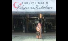 'Türkiye'nin Kahraman Kadınları' programında bir Gümüşhaneli