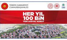 TOKİ 250 konutun kuraları çekildi