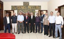 Emniyet Müdürü Karataş'tan Meclise veda ziyareti