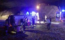 İşçileri taşıyan midibüs kaza yaptı: 8 yaralı