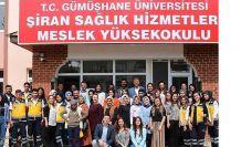 Şiran Sağlık Hizmetleri MYO yeni programlarına ilk öğrencilerini alıyor