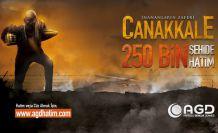 AGD Çanakkale şehitlerini 250 bin hatimle yad ediyor