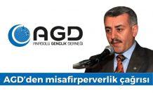AGD'den misafirperverlik çağrısı