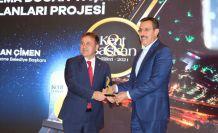 Başkan Çimen'e bir ödül daha