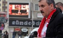 BBP Lideri Destici Gümüşhane'de