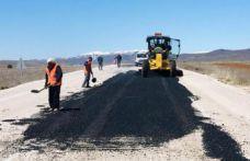 Köse-Bayburt yolunda asfalt başladı