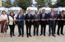 Gümüşhane'ye 7 yeni ambulans daha