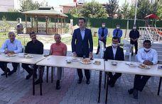 Mehmet Beyaz Kur'an Kursunun bahçe düzenlemesi tamamlandı