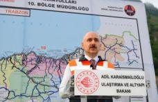Bakan Karaismailoğlu'ndan demiryolu ve Zigana açıklaması