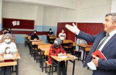Yeni Müdür Sünnetçi okul ziyaretlerine devam ediyor