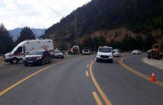 Zigana dağında 3 aracın karıştığı trafik kazası: 9 yaralı