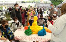 2 günde 1400 çocuk bilimle tanıştı