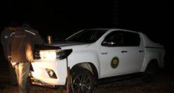 Gümüşhane'de gece kaçak av yapanlara 4 bin 669 lira ceza kesildi