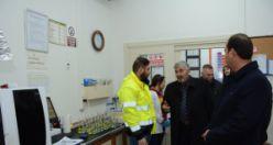 İl Genel Meclisi'nden madencilere ziyaret