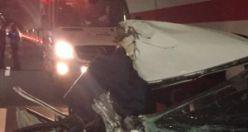 Gümüşhane çevre yolu tünelinde kaza: 2 ölü, 1 yaralı