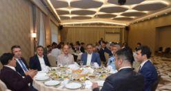 Çevik ve Avan için veda yemeği düzenlendi