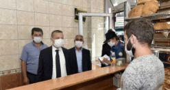 Torul'da geniş kapsamlı koronavirüs denetimi