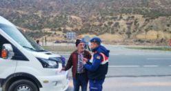 Jandarma bilgilendirme çalışmalarına devam ediyor
