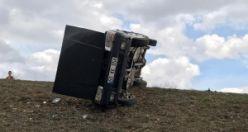 Gümüşhane'de otomobil kontrolden çıktı: 8 yaralı