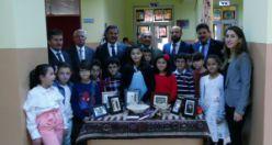 Öğrenciler milli kültür öğeleri sergisi açtı
