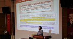 Akademisyenlere TÜBİTAK projeleri ve bilimsel araştırmalar anlatıldı