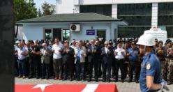Genç polis Duran için Trabzon'da tören düzenlendi