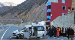 Torul'da trafik kazası: 6 yaralı