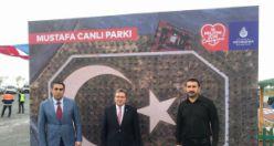 Mustafa Canlı Hatıra Parkı açıldı
