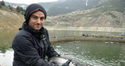 Karlı dağların arasından Japonya'ya balık ihraç ediyorlar