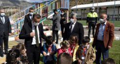 Gümüşhane'de trafik eğitim parkı yeniden çocuklarla buluştu