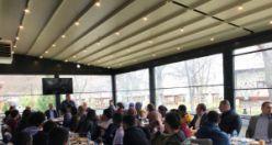 Başkan Çimen öğrencilerle kahvaltıda buluştu