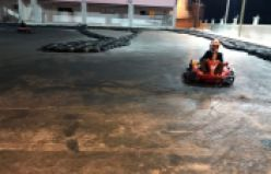 Gümüşhane Go-Kart pisti test aşamasında