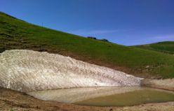 Rehabilite edilen Dipsiz gölde su seviyesi yükseliyor