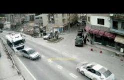 Gümüşhane'de ki kazalar MOBESE kameralarına yansıdı
