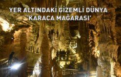 Yer altındaki gizemli dünya 'Karaca Mağarasında' sezon başladı