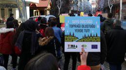 Gümüşhane'de TEMA Vakfı tarafından erozyona dikkat çekmek için yürüyüş düzenlendi