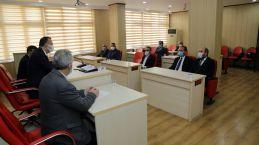 Vali Taşbilek'ten meclise teşekkür ziyareti