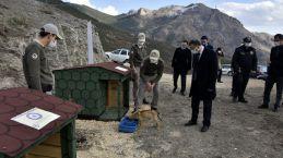 Gümüşhane'de Hayvanları Koruma polisleri göreve başladı