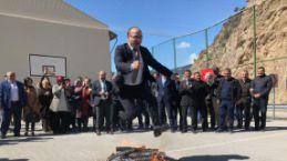 Torul'da Nevruz ateş Kirazlık'ta yakıldı