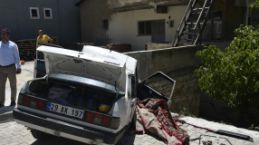 Gümüşhane'de trafik kazası: 1 ölü, 4 yaralı